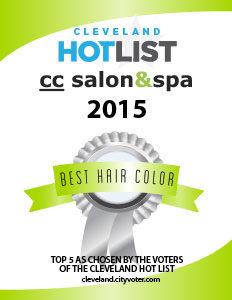cc salon cleveland hotlist winner 2015