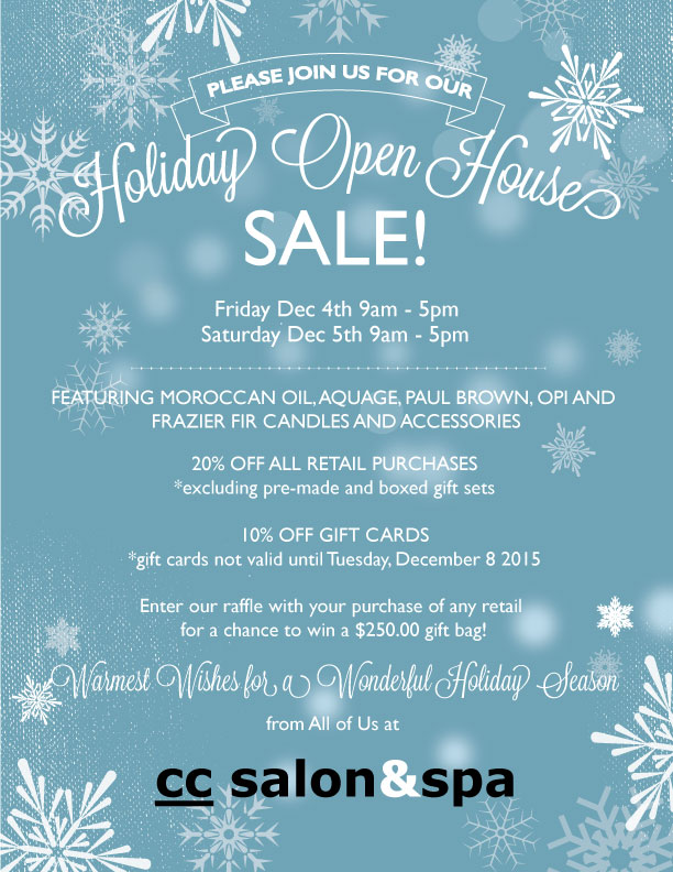 CC Holiday 2015 Open House